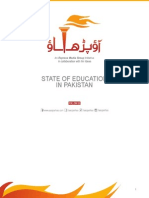 State of Education in Pakistan