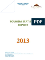 Tourism Statistics Annual Report 2013