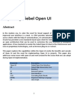 Exploring Siebel Open UI