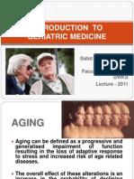 Geriatric Medicine Lecture Upload
