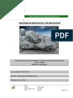 M8 - Materiales Metálicos y No Metálicos