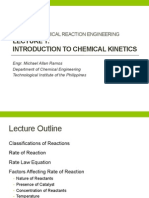 _Lecture 1 - Chemical Kinetics