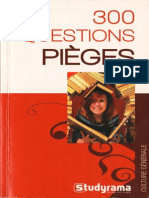 300 Questions Pieges