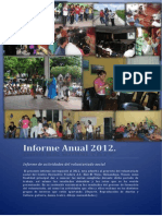 Santa Rosa Fund Informe Voluntariado 2012