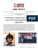 Santa Rosa Fund Newsletter No. 41 July 2013