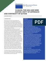 IAEA and the EU Paper