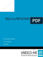 Role of the Port Authority