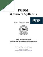 Marketing Syllabus 2013-15 Final Modified on 5-7-13