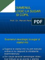 Examenul Neurologic La Sugar Si Copil