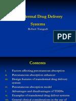 TRANSDERMAL DRUG DELIVERY.ppt