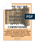 How Do We Know Which Old Testament Laws Still Apply to Christians?