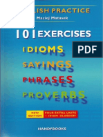 Maciej Matasek - 101 Exercises (Idioms, Sayings, Phrases, Proverbs)