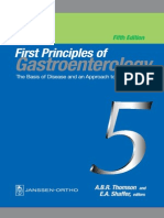 1st Principle of Gastroenterology