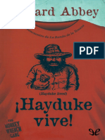 !Hayduke Vive! - Edward Abbey - 12692 - Spa