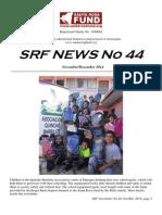 Santa Rosa Fund Newsletter Issue No 44 December 2014