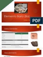 Elemento Bario (Ba)