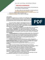 Resumo - Fisiologia Do Sistema Respiratório - COMPLETO