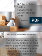 BRC Global Standard for Food Safety ShortTraining Guide