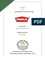 salesanddistributionofparle-140211145046-phpapp02
