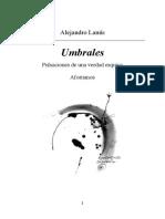 Alejandro Lanus - Umbrales [Aforismos]