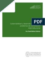 Agenda Gobernabilidad Desarrollo Subnacional