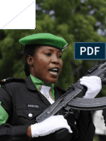 AMISOM's Outgoing Nigerian Police Awarded Medals