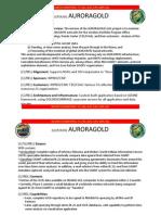 NSA AURORAGOLD