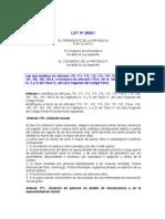 Ley 28251 Esci Pe
