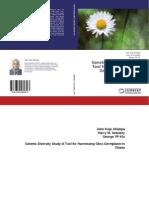 Genetic Diversity Study; A Tool for Harnessing Okra Germplasm. ISBN 978-3-659-58939-3.