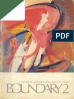 Bernstein Charles 43 Poets 1984 Boundary 2 1986