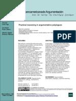 Practical reasoning in argumentative polylogues - Marcin Lewnski