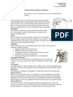 Clavicle Fracture Protocol After Surgical Repair