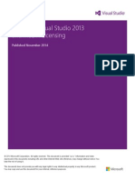 Visual Studio 2013 and MSDN Licensing Whitepaper - November-2014