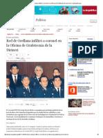 Red de Orellana Infiltró a Coronel en La Oficina de Grafotecnia de La Dirincri _ LaRepublica