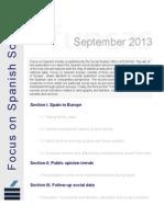 Focus on Spanish Society_September2013