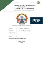 Ensayo de Compactacion de Suelos-Proctor Modificado