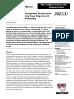 Jawood  - Windows Server 2003 case study.doc