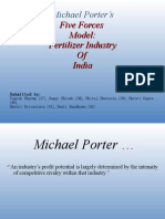 Porter's Model on Fertilizers
