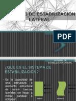Sistemas de Estabilización Lateral