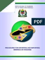 Export Import Tanzania