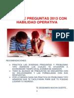 Banco de Preguntas CD 2013
