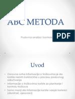 ABC Metoda
