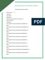 La Estructura de Selección Múltiple