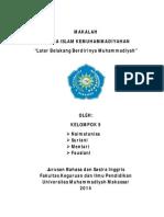 AIK - Latar Belakang Berdirinya Muhammadiyah.pdf