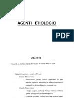 Agenti Etiologici