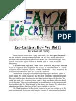 Eco Critter Essays