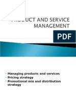 Managing Products and Services  Pricing Strategy