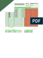 Modelo de Rodízio - Revezamento de Organistas - 1 Irmã POR CULTO