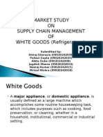 Supplay Chain Process of White Goods