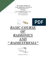 Basic Course of Radionics Dowsing Divining Radiesthesia